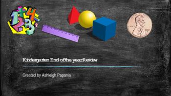 Kindergarten EOY Math review
