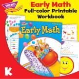Kindergarten Early Math 26-Page Activity Workbook