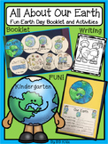 Kindergarten Earth Day Emergent Reader and Writing Activities