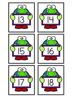 Kindergarten Earth Day Math Centers - 7 Math Centers