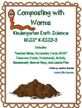 Kindergarten Earth and Human Activity-Composting with Worms