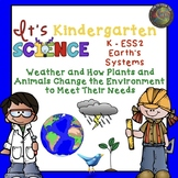 Kindergarten NGSS Earth's Systems Unit:  Weather and How it Effects Us