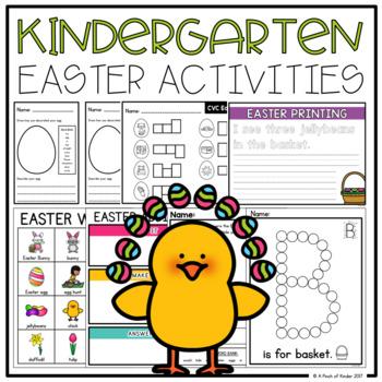 Kindergarten Easter Activities