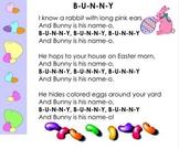 Kindergarten Easter Bunny  Smartboard file