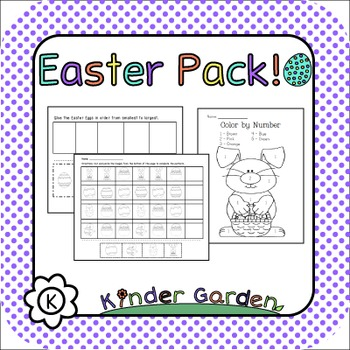 Kindergarten Easter Pack!