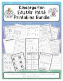 Kindergarten Easter & Spring Math Printables Bundle