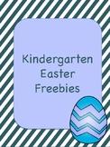 Kindergarten Easter Worksheets