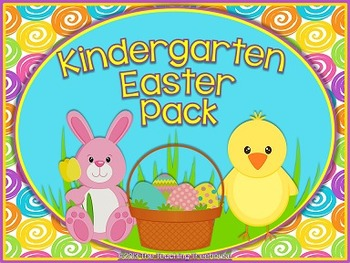 Kindergarten Easter Pack