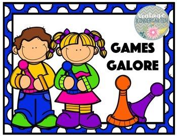 Kindergarten Easy Games