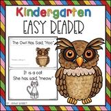 Kindergarten Easy Reader