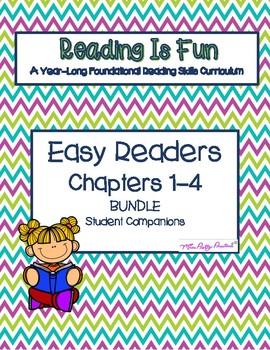 Reading Is Fun: Easy Readers Chapters 1-8