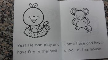 Kindergarten Easy Reader and Comprehension Worksheets FREEBIE