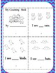 Kindergarten Emergency Sub Plan Packet *20 pages*