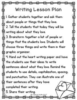Kindergarten Sub Plans February