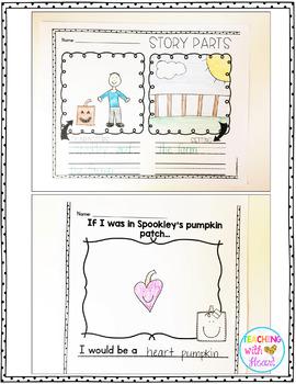 Kindergarten Emergency Sub Plans {October}