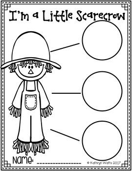 Kindergarten Sub Plans October