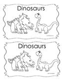 Kindergarten Emergent Reader Book Dinosaurs