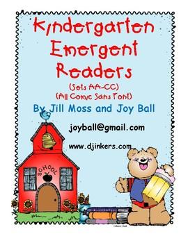 Kindergarten Emergent Reader Bundle