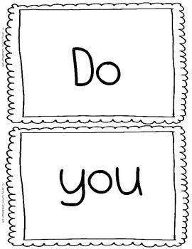 """Kindergarten Emergent Reader """"I Like Colors"""""""