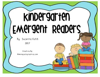 Kindergarten Emergent Readers