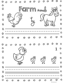 Emergent Readers~ All About Animals