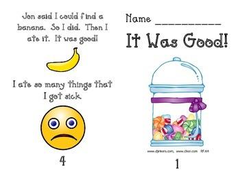 Kindergarten Emergent Readers Set C