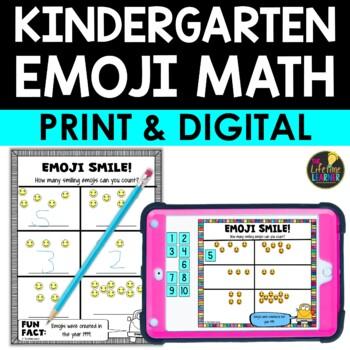 Kindergarten Emoji Math