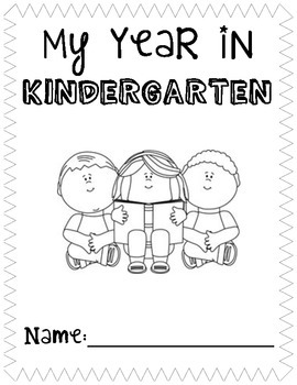 Kindergarten End of Year Book