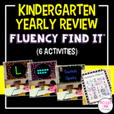 End of Year Kindergarten Review Fluency Find It