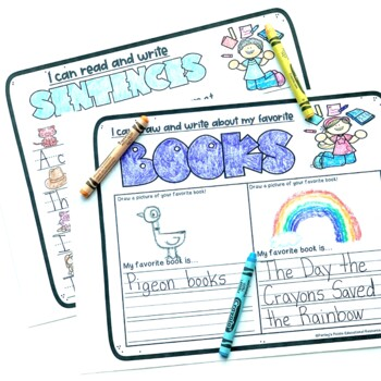 Kindergarten End of the Year Activity and Memory Book