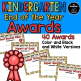 Kindergarten End of the Year Awards