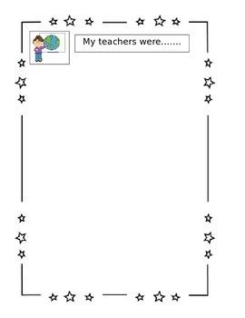 Kindergarten End of the Year Book