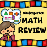 Kindergarten End of the Year Math Review
