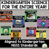 Kindergarten Science NGSS Entire Year Bundle