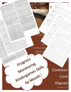 Kindergarten Entrance and Progress Monitoring Assessments