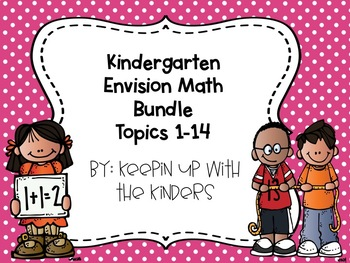 Kindergarten Envision Math Growing Bundle