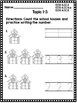 Kindergarten Envision Math Topic 1 Worksheets