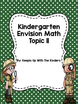 Kindergarten Envision Math Topic 11