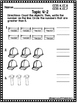 Kindergarten Envision Math Topic 4 Worksheets