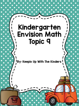 Kindergarten Envision Math Topic 9