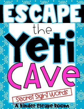 Kindergarten Escape Room: Yeti Cave