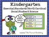 Kindergarten Essential Standards Posters for SS & Science (North Carolina)
