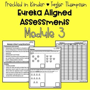 Kindergarten Eureka Math Module 3 Assessments