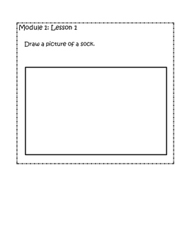Kindergarten Eureka/Engage NY Math Module 1 Application Problems
