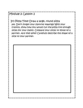 Kindergarten Eureka/Engage NY Math Module 2 Application Problems