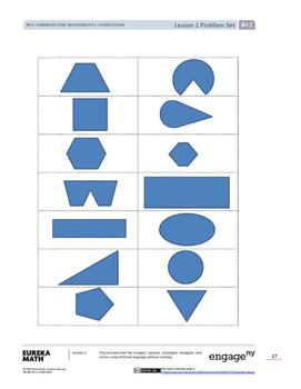 Kindergarten Eureka EngageNY Module 2 Workbook (Copying Materials Made Easy)