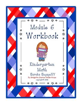 Kindergarten Eureka EngageNY Module 6 Workbook (Copying Ma