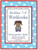 Kindergarten Eureka EngageNY Modules 1-6 Workbooks (Copying Materials Made Easy)
