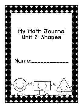 Kindergarten Eureka Math Journal Unit 2