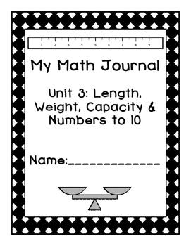 Kindergarten Eureka Math Journal Unit 3